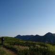 鷲羽岳、水晶岳方面