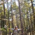 1020袴岳へ登る途中