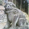 080307飯能の阿寺集落にある諏訪神社