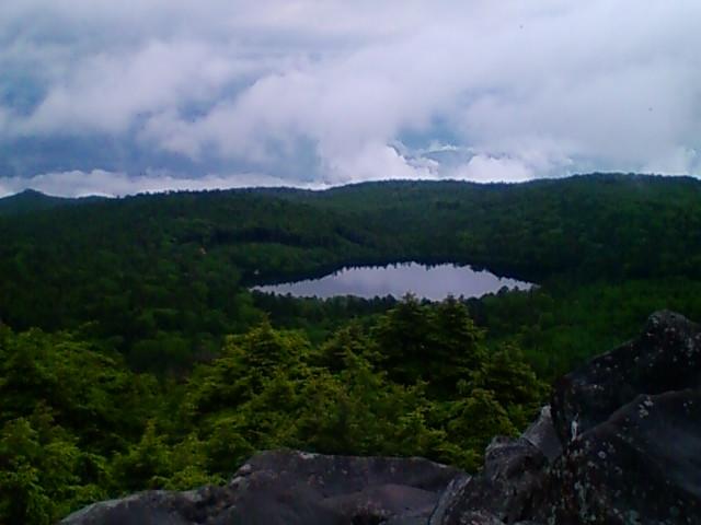 高見石より白駒池