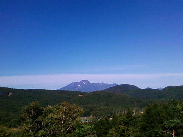 斑尾から妙高山